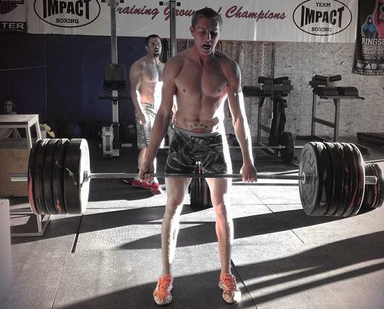 Pro MMA fighter Jason Show Stopper Brenton